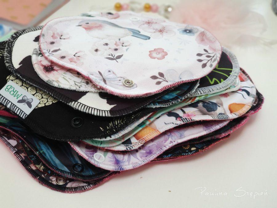 Podpaski i wkładki wielorazowe