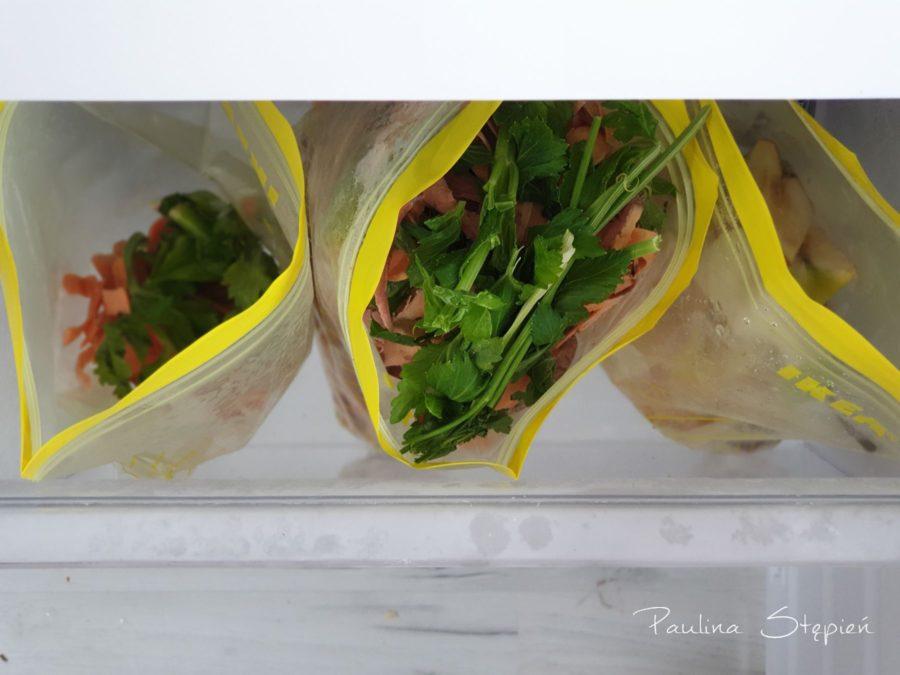 Mrożonki domowej roboty, czyli przygotowane bazy na zupy