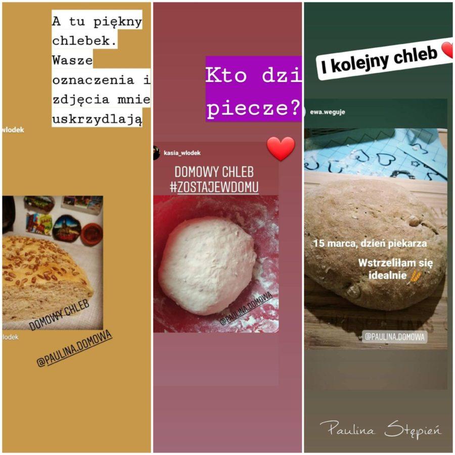 Chleby nadesłane przez moich Czytelników, dziękuję!