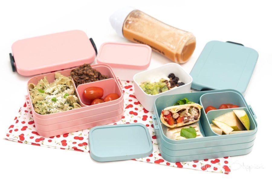 Szykowanie jedzenia do pudełek wcale nie musi zajmować dużo czasu. Na zdjęciu pudełka Mepal model medium