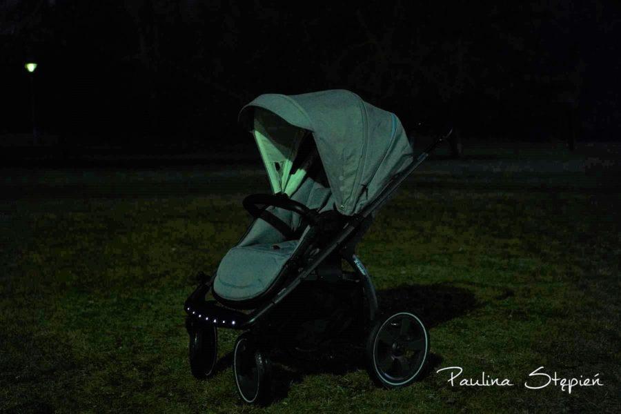 Oświetlenie wózka