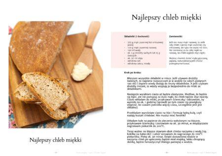 Proste przepis - przykładowa strona ze zdjęciem posiłku oraz dokładną recepturą