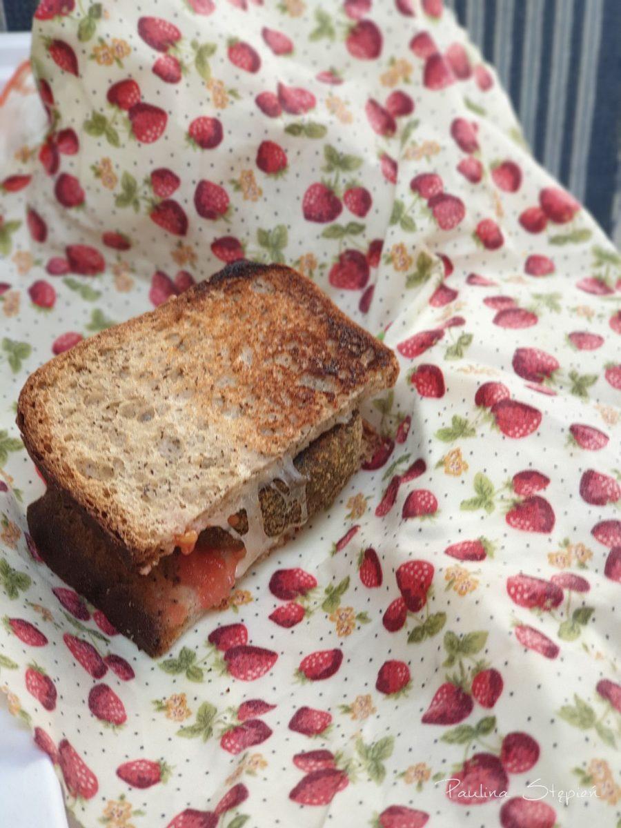 Woskowijka to świetna opcja by spakować swoje kanapki nawet na spacer