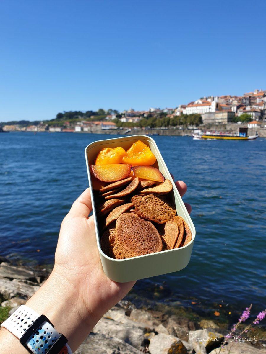 To akurat zdjęcie z Porto, ale my jedzenie na wynos zabieramy odkąd pamiętam i chcę Wam pokazać, że nie jest to trudne, a bardzo wygodne :)