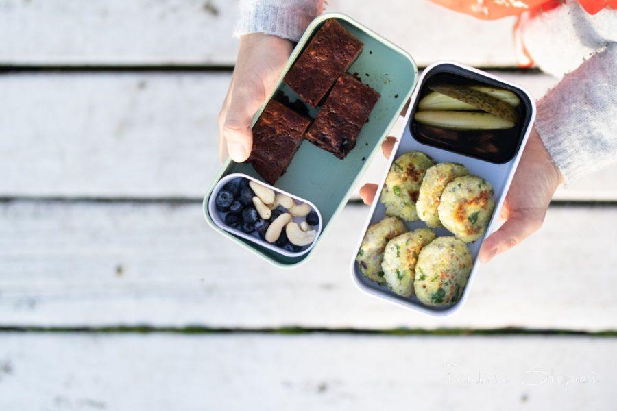 Domowe ciasto, kotleciki, wszystko można zjeść na zimno