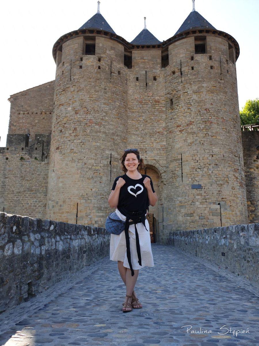 O jeszcze takie fajne zdjęcie spod zamku