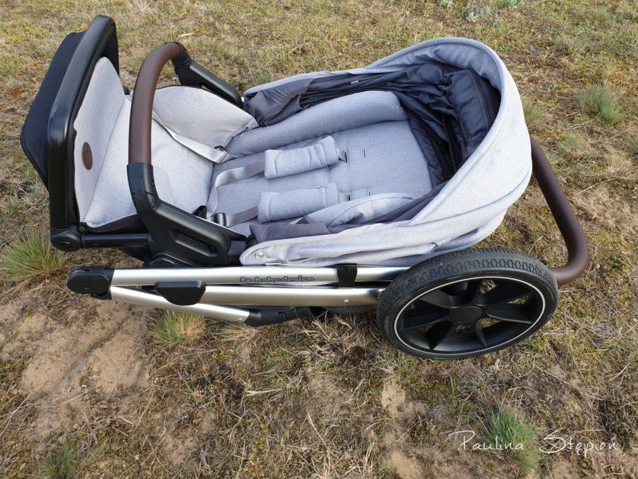 Złożony wózek