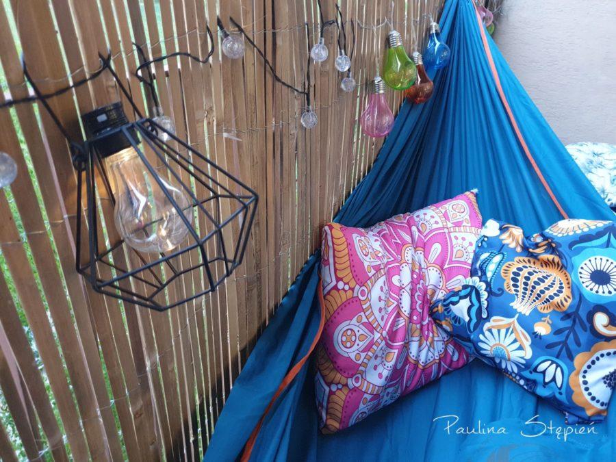 Lampki, mata bambusowa