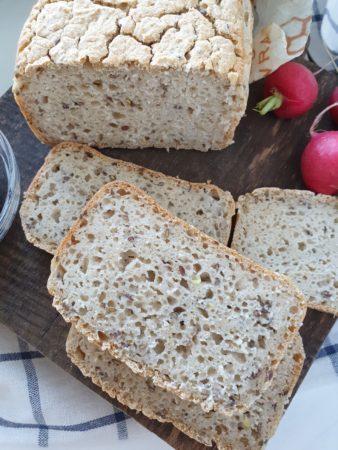 Chleb bezglutenowy, ryżowy