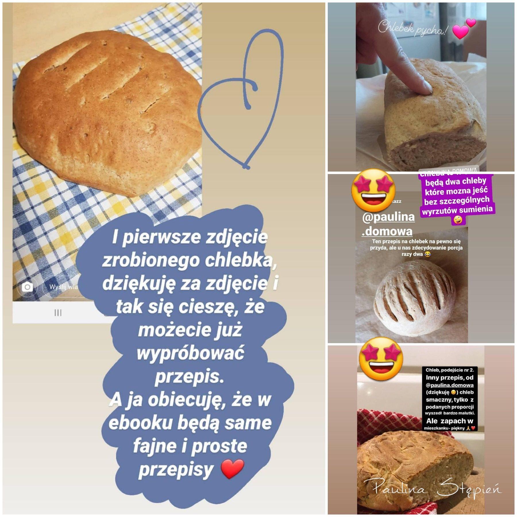 Zdjęcia chlebów nadesłane przez Czytelników
