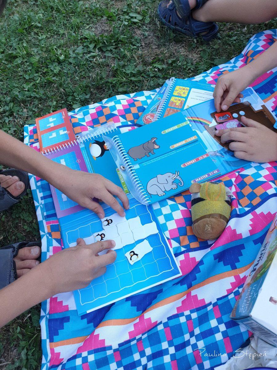 Dzieci mają takie fajne gry magnetyczne Smart games, super sprawa w podróży