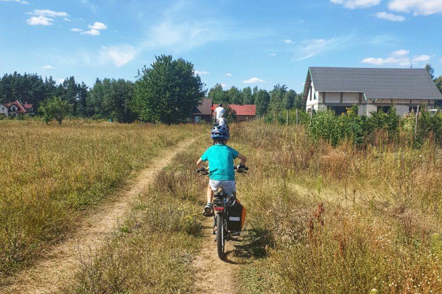 Rowerem w okolicy Augustowa