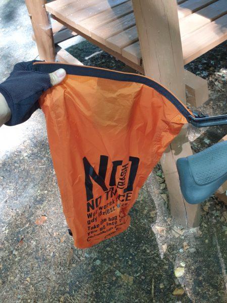 Zawsze mieliśmy ze sobą swoją torbę na śmieci