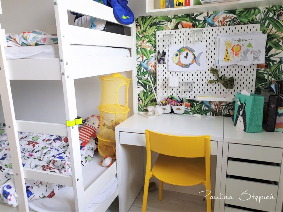 Nowa odsłona pokoju dla chłopców
