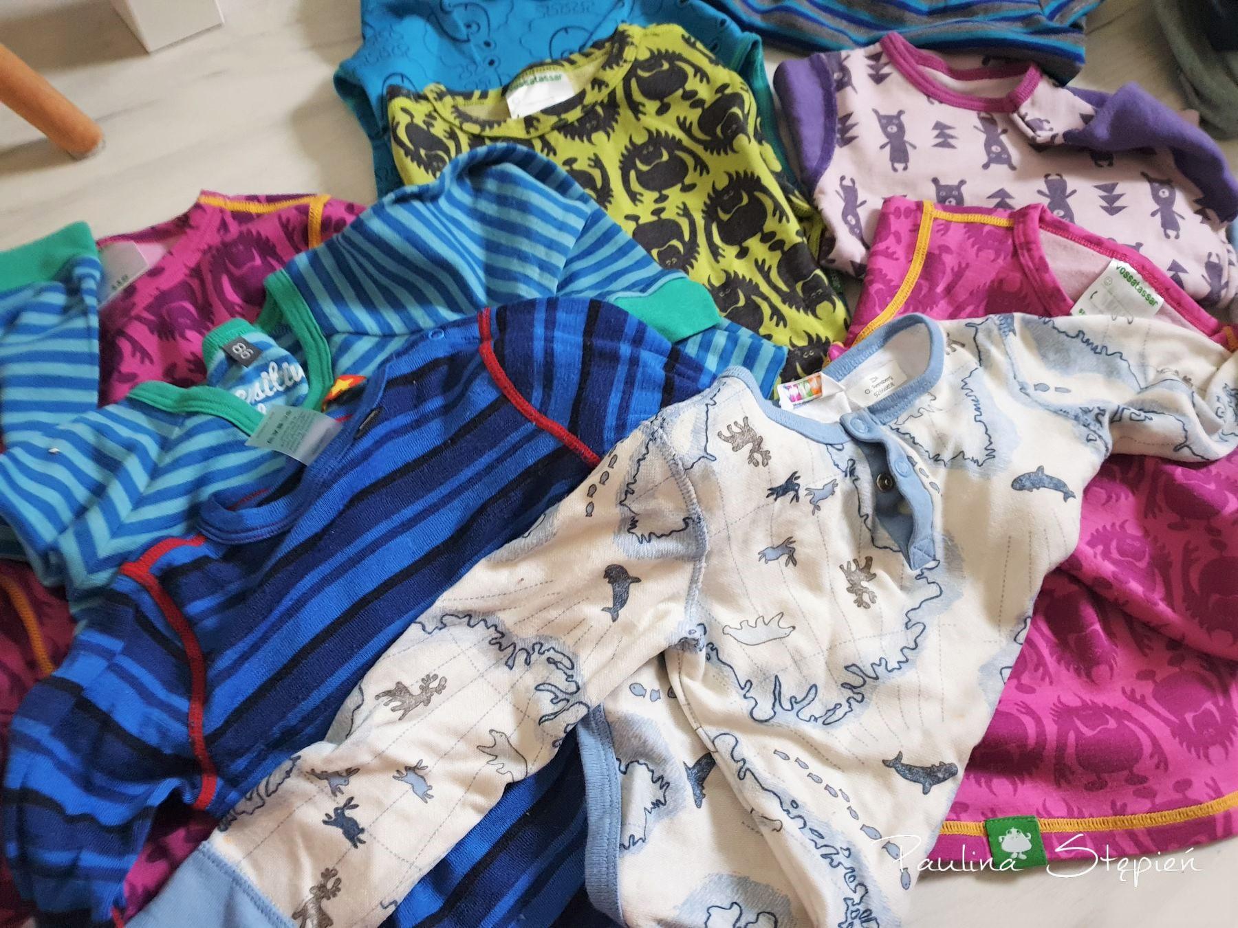Wełniane ubrania
