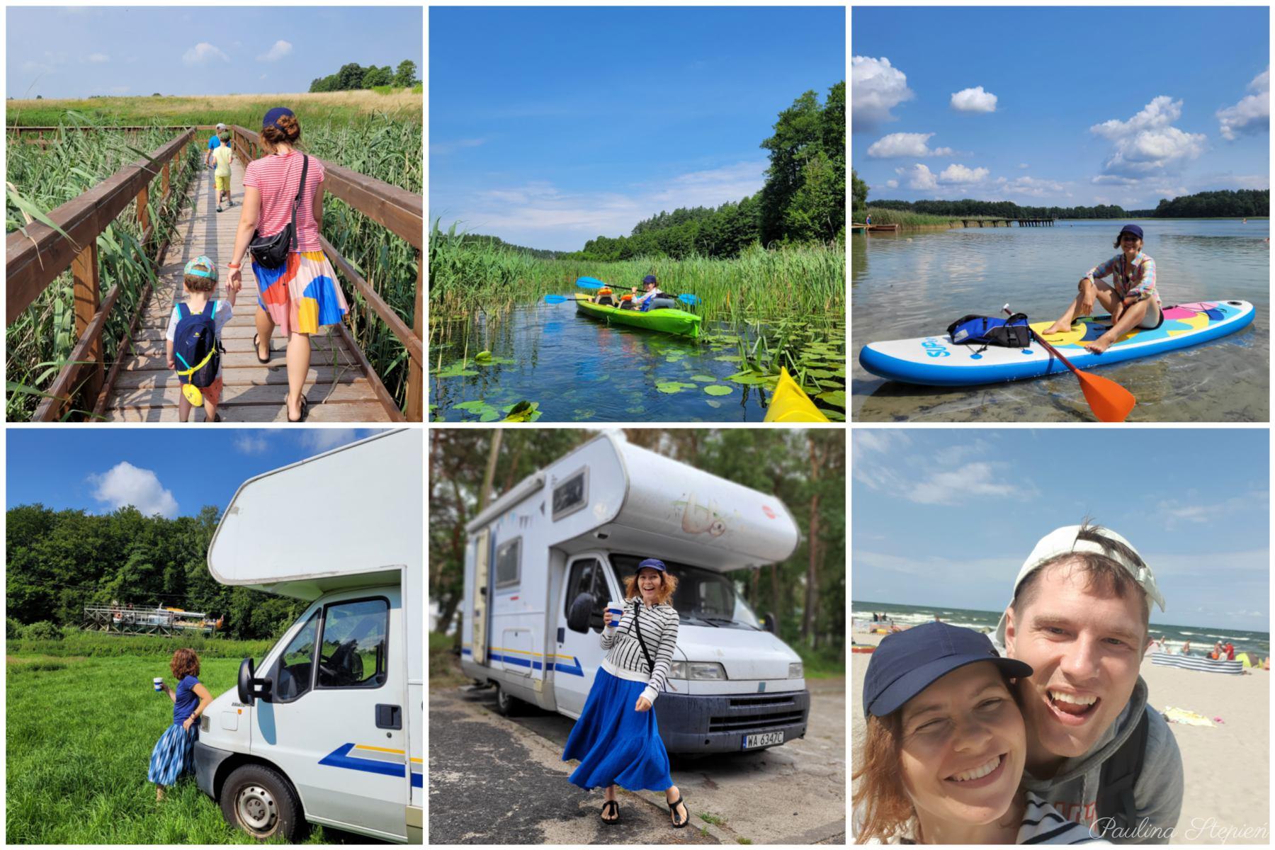 Wyjazd kamperem Polska