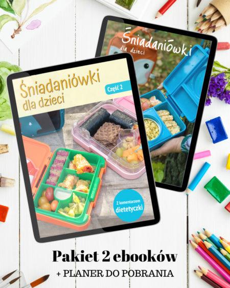 """Pakiet 2 ebooków """"Śniadaniówki dla dzieci"""""""